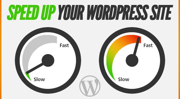 how increase wordpress site speed